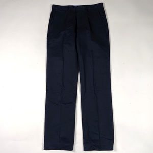 J. Crew Bedford Size 29 X 32 Solid Navy Blue Pants